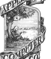 Logo cyntaf Apple