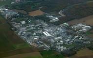 The main CERN site in Switzerland