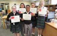 6th Grade Battle of the Books Champions