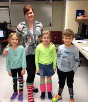 Mrs. Schlueter's Principal Pride - Crazy Socks!