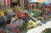 Market in Bolivia