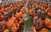Buddha Day in Thailand 2012