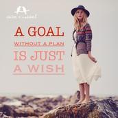 SET YOUR GOAL!