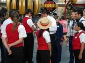 Employees at Disney parks