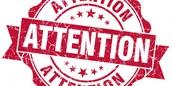 Attention Erichment Families