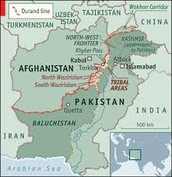 Where are the Taliban located?