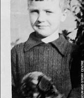 Roald Dahl as a child