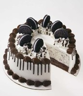 Cookie and Cream Ice-cream/ Cake