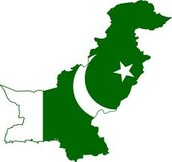 Pakistan's flag and country