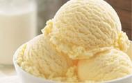 Une glace à la vanille