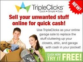 Sell your unwanted stuff online for quick cash!