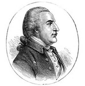 Benedict Arnold Side-View Portrait