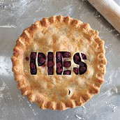 Our shop sells the best pies in town!