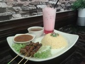 Satay Rice Set