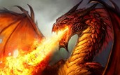 Fire Dragon or Red Dragon