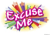 "Say ""Excuse me"""