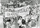Women Proclaiming Their RIghts