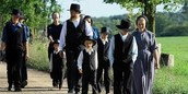 Amish Family (the Yoders) sends their children to public school through the 8th grade