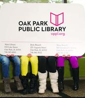 We LOVE the Oak Park Public Library