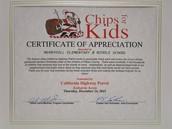 CHiPs For Kids