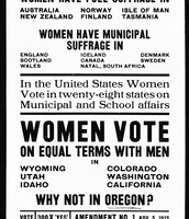 Poster Encouraging Women's Rights