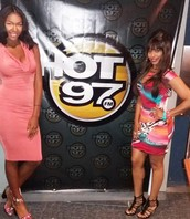 We were special guest on Hot 97