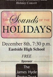 Dec. 8th - Sounds of the Holidays, 7:30pm