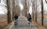 Un rastro para bicicletas