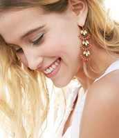 Coral Cay Earrings  {Was $49 - Now $25}