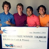 Winners of Honolulu's 2014 Mai Tai Rumble