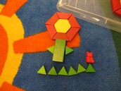 Using Math Skills to Make a Flower!