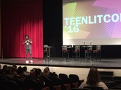 Jason Reynolds talked to teens about his childhood and why they should read and think for themselves.