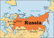 Peter the Great ruled Russia