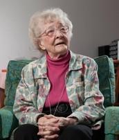 Happy 100th Birthday Helen Bade!