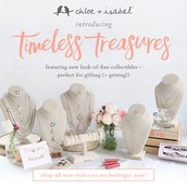 Meet our new collection, Timeless Treasures!