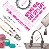 November Trunk Show Event Exclusives
