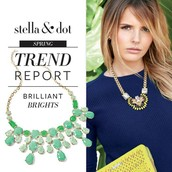 Trend #1: Brilliant Brights