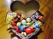 Cesta Chocolate - 18 itens por apenas R$ 35,00