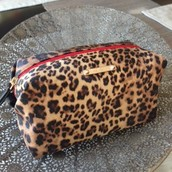Leopard Pouf | 13 (ON HOLD FOR ALISON)