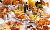 Numero de dias uno (7:00am-8:00am) - Desayuno