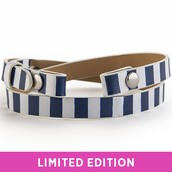 Blue/White Stripe Wrap