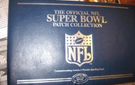 Super Bowl Patch Collection