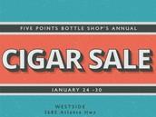 Annual Cigar Sale