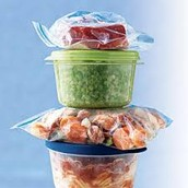 Wrap foods properly for storage