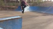 Me encanta patinar a Londonderry Skate Park
