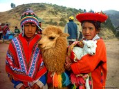 The Incans specialized in making many different forms of beautiful crafts.