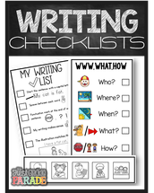 Writing Workshop & Guided Reading Resources