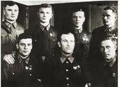 Советские летчики, получившие звания Героев Советского Союза в период битвы за Москву.