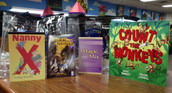 Four Students Win Books!
