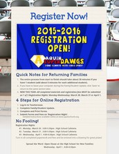 Problems with Registration 2015-16?